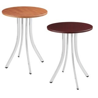 Decori Tall Wood Side Table