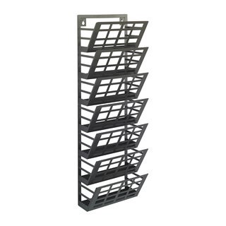 Grid 7-pocket Magazine Rack