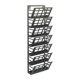 Grid 7-pocket Magazine Rack