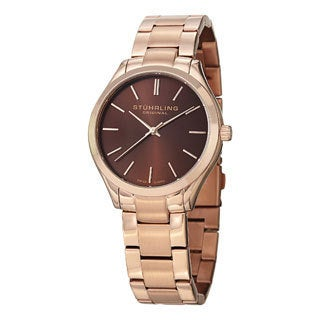 Stuhrling Original Men's Gentry swiss Quartz Bracelet Watch