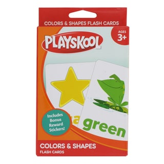 Playskool Colors and Shapes Flash Cards