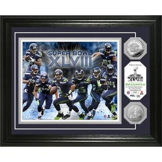 NFL Seattle Seahawks Super Bowl 48 Team Force Silver Coin Photo