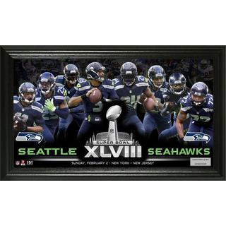 NFL Seattle Seahawks Super Bowl 48 Team Force Panoramic Photo