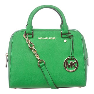 MICHAEL Michael Kors 'Jet Set' Medium Palm Saffiano Travel Satchel