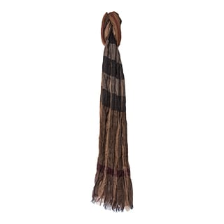 Burberry Dark Oak Mega Check Scarf