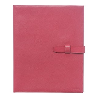 Prada Pink Saffiano Leather iPad Case
