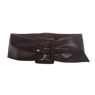 Prada Black Nappa Leather Sash Belt