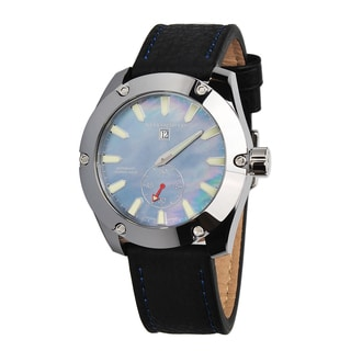Android Men's 'Antigravity' Jumping Hour Automatic LE' Blue Dial Watch