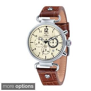 AVI-8 Men's 'Hawker Hurricane' Strap Chronograph Watch