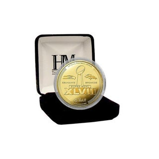 Super Bowl 48 Gold Flip Coin