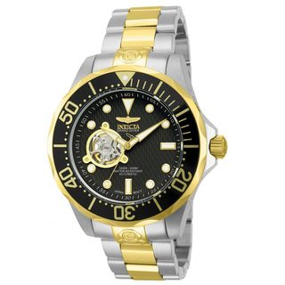 Invicta Men's 'Pro Diver Automatic 13705' Black Dial Watch