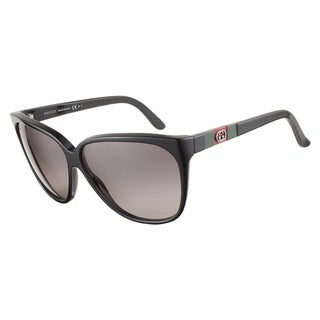 Gucci GG3539S GAY EU Black Black Green Red Black 62 Sunglasses