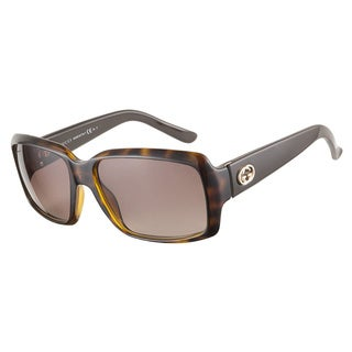 Gucci GG3506S ISA HA Havana Dark Brown 57 Sunglasses