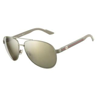 Gucci GG2898S SI7 DT Green Palm 58 Sunglasses