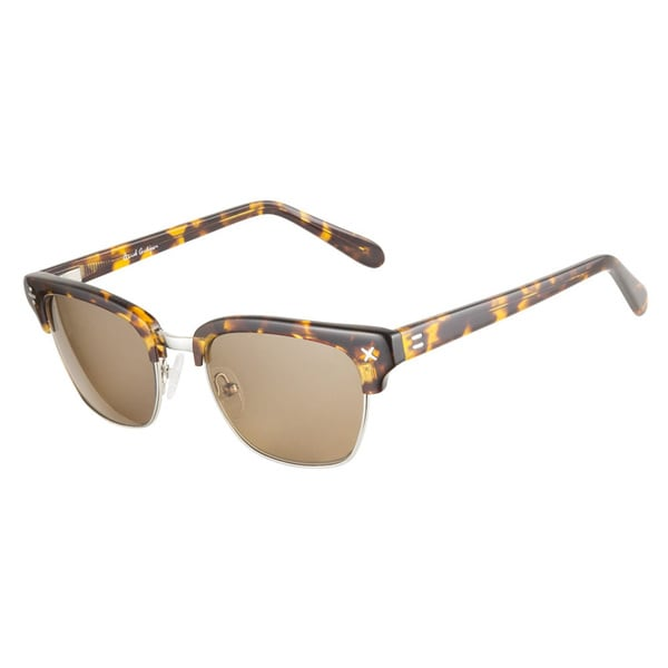 Derek Cardigan Sun 7010 Brown Tortoiseshell Sunglasses