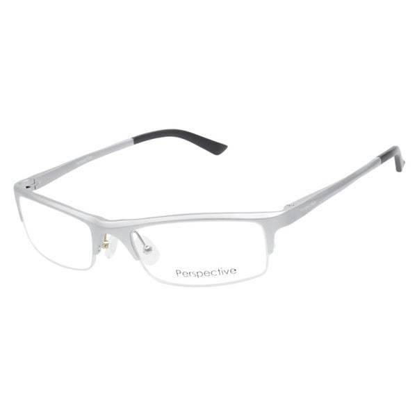 Perspective 2044 Silver Prescription Eyeglasses