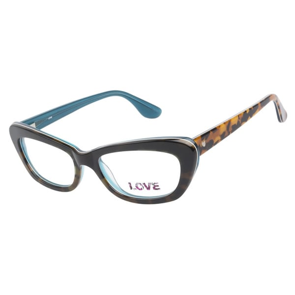Love L747 Teal Tort Prescription Eyeglasses