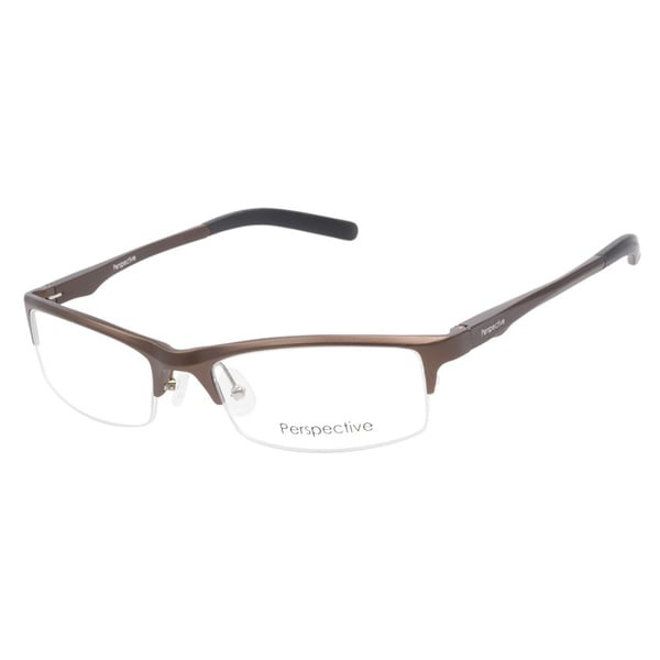 Perspective 2034 Brown Prescription Eyeglasses