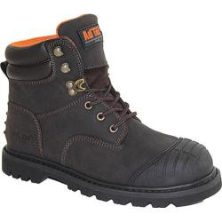 Men's AdTec 1018 6in Work Boots Brown Leather