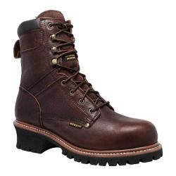 Men's AdTec 9488 9in Waterproof Super Logger Brown Leather