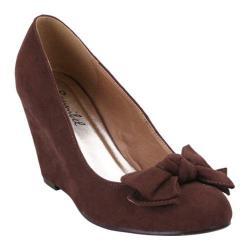 Women's Beston Arwin-1 Brown Faux Leather