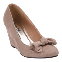 Women's Beston Arwin-1 Taupe Faux Leather