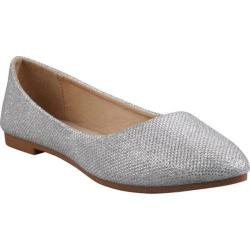 Women's Beston Julia-61 Silver Glitter