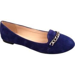 Women's Beston Stacy-02 Royal Blue Faux Suede