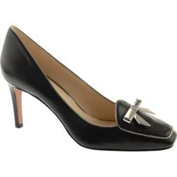 Women's Nine West Darcy Black/Silver Leather