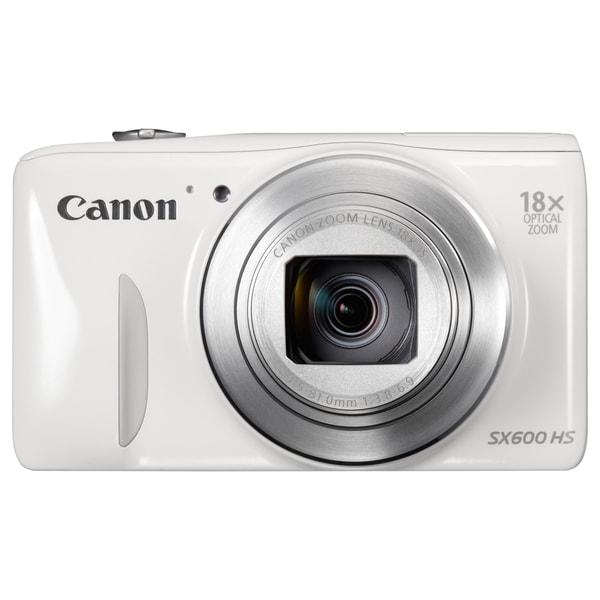 Canon PowerShot SX600 HS 16 Megapixel Compact Camera - White