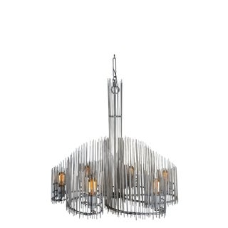 Varaluz Spikotic 6-light Bauxite Chandelier