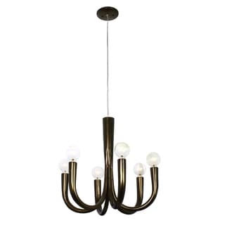 Varaluz Don Taper 6-light Statue Garden Chandelier