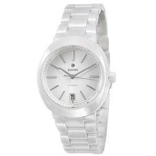 Rado Women's 'D Star' Ceramic Swiss Mechanical Automatic Watch
