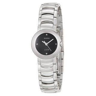 Rado Women's 'Coupole Jubile' Stainless Steel Swiss Quartz Watch
