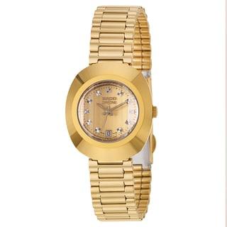 Rado Women's 'Original' Yellow Gold-Plated Hard Metal Swiss Quartz Watch