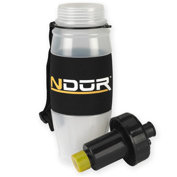 NDuR 28oz Clear Pull Top Bottle with Advanced Filter