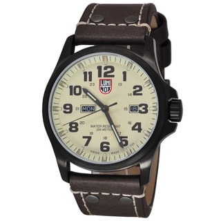 Luminox Men's Atacama Field Day Date 1927 Ivory Watch