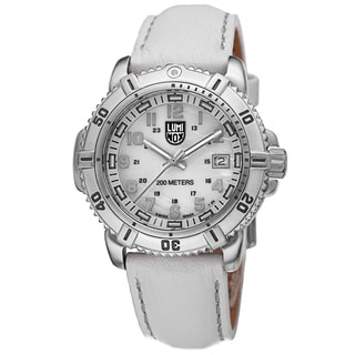 Luminox Women's A.7257 'ModernMarine' Mother of Pearl Dial