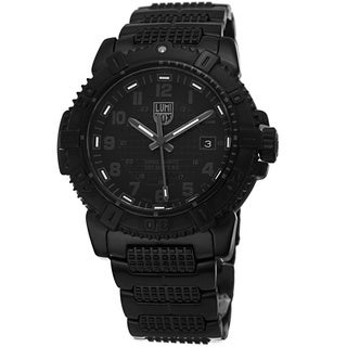 Luminox Men's A.6252.BO 'ModernMarine' Black Dial Black Strap Watch