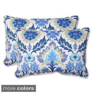 Pillow Perfect Santa Maria Over-sized Rectangular Outdoor Throw Pillows (Set of 2)