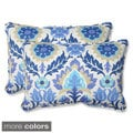 Pillow Perfect Santa Maria Over-sized Rectangular Outdoor Throw Pillows (Set of 2)