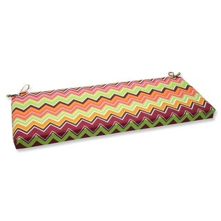 Pillow Perfect Zig Zag Outdoor Bench Cushion