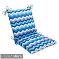 Pillow Perfect Panama Wave Squared Corners Chair Outdoor Cushion