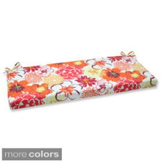 Pillow Perfect Floral Fantasy Bench Outdoor Cushion