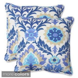 Pillow Perfect Santa Maria 18.5-inch Outdoor Throw Pillows (Set of 2)