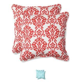 Pillow Perfect 'Luminary' Outdoor 18.5-inch Throw Pillows (Set of 2)