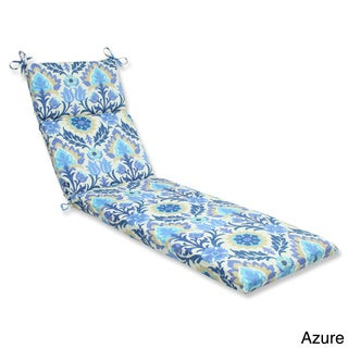 Pillow Perfect 'Santa Maria' Outdoor Chaise Lounge Cushion