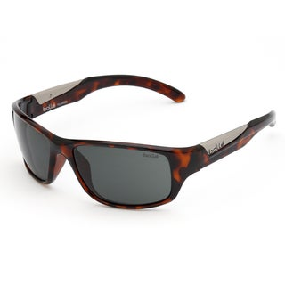 Bolle Men's 'Vibe' Shiny Tortoise Sport Sunglasses