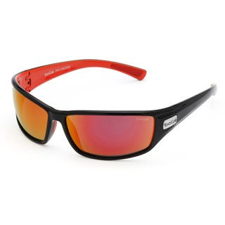 Bolle Men's 'Python' Black and Red Sport Sunglasses