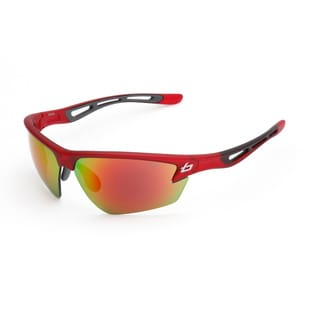 Bolle Men's 'Draft' Satin Crystal Red Sport Sunglasses